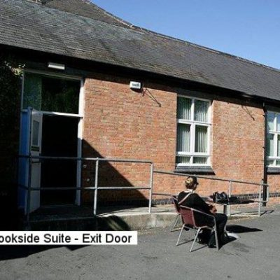 Community Centre Brookside Suite Exit Door