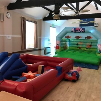Community Centre Party Setup 1