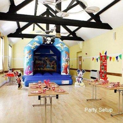 Community Centre Party Setup 2