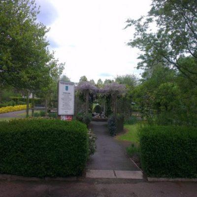 Peace Garden In Central Park