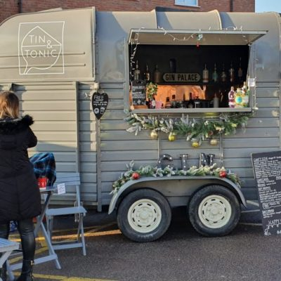 Syston's Christmas Event 2019 Decorated Horsebox