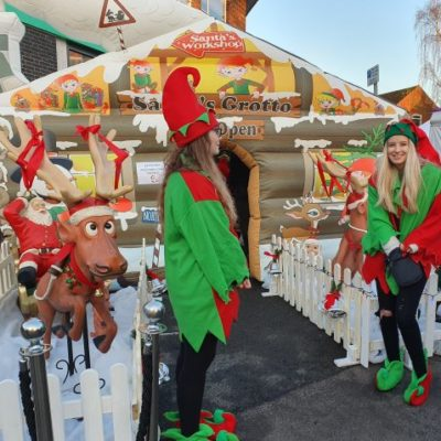 Syston's Christmas Event 2019 Elves At Grotto