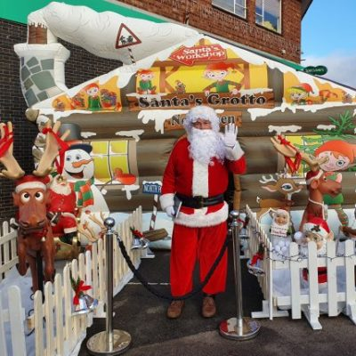 Syston's Christmas Event 2019 Santas Grotto