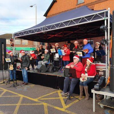 Syston's Christmas Event 2019 Ukulele Band