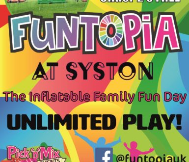 Syston Aug Funtopia Poster