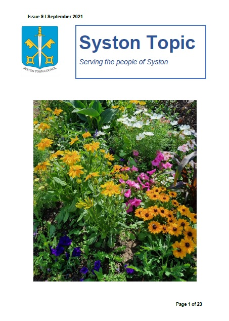 Syston topic september
